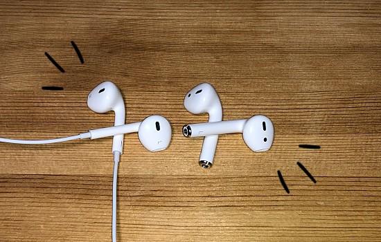EarPodsと並べて